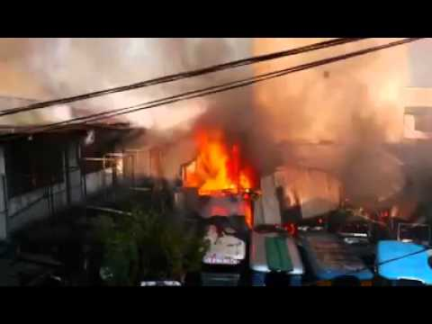 Fire @ Pampanga St. Sta Cruz Manila April 2016