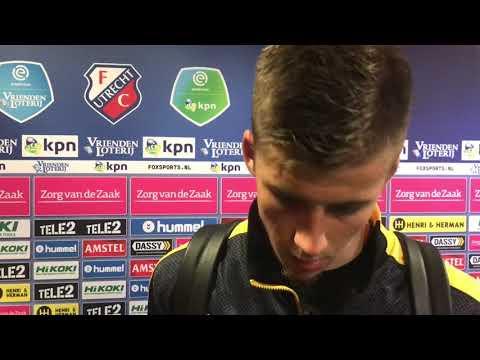 INTERVIEW   Luka Ilic na FC Utrecht - NAC