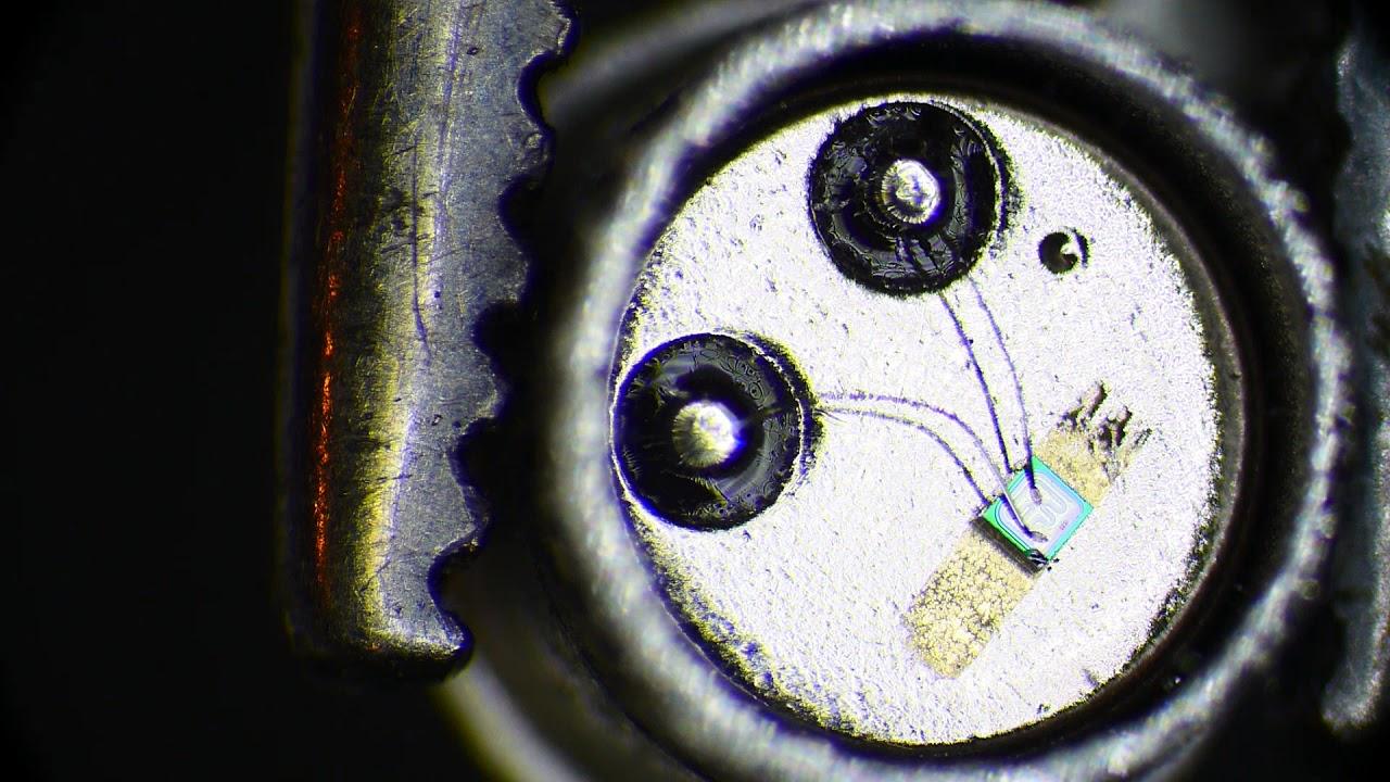 Znalezione obrazy dla zapytania transistor microscope