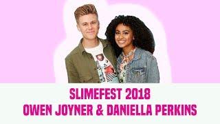 Daniella Perkins & Owen Joyner Talk 'Knight Squad' | Nickelodeon SlimeFest 2018
