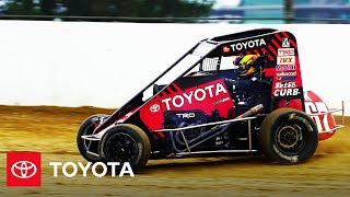 homepage tile video photo for What Happens When Toyota Drivers Go Dirt Racing | Toyota