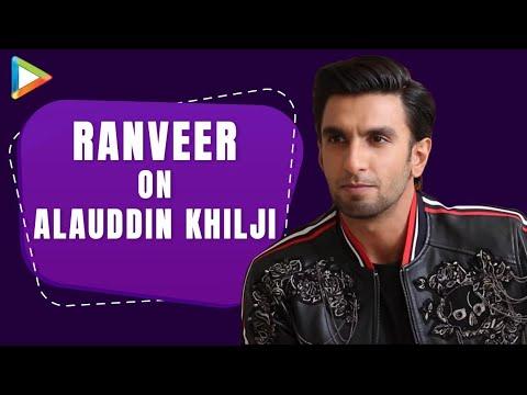 "Ranveer Singh: ""Yes I Had Based Alauddin Khilji's Physical Movements On…"" | Padmaavat"