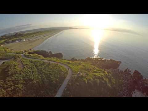 Portstewart Strand Beach - Shot In 4k - Downscaled