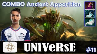 Universe - Sand King MID | COMBO Ancient Apparition | Dota 2 Pro MMR Gameplay #11