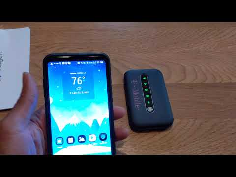 Using The Google Fi Data Only Sim Card With TMobile Coolpad Portable Hotspot