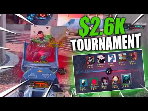 Call Of Duty Mobile $2,600 Tournament! // The Game That Got Us Qualified For Finals!