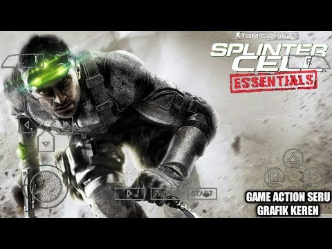 Cara Download Game Tom Clancy's Splinter Cell Essentials PPSSPP Android