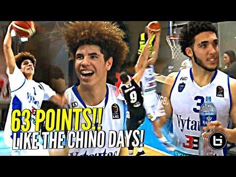LaMelo & LiAngelo Ball Playing Like it's CHINO HILLS! 30 Points EACH! GELO KILLIN IT!!