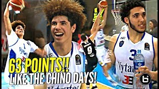 LaMelo & LiAngelo Ball Playing Like it's CHINO HILLS! 30 Points EACH! GELO KILLIN IT!!