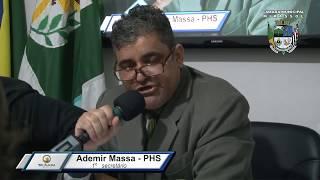 2ª Sessão Ordinária - Ademir Massa