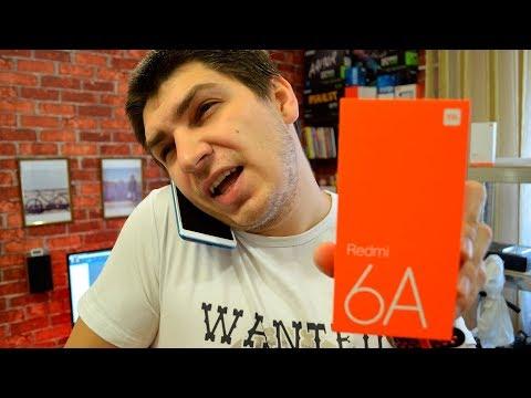 Смартфон за 90 баксов - Xiaomi Redmi 6A