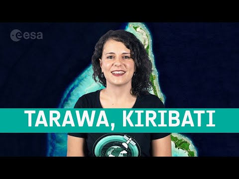 Earth from Space: Tarawa, Kiribati