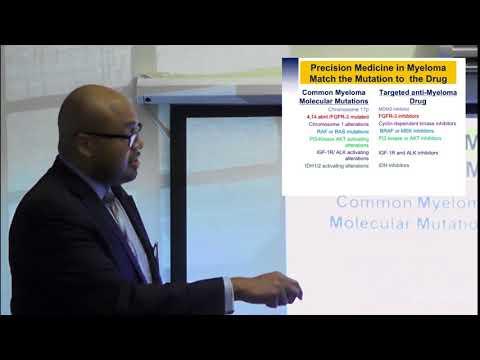 Dr. Craig Cole:  Precision Medicine for Myeloma