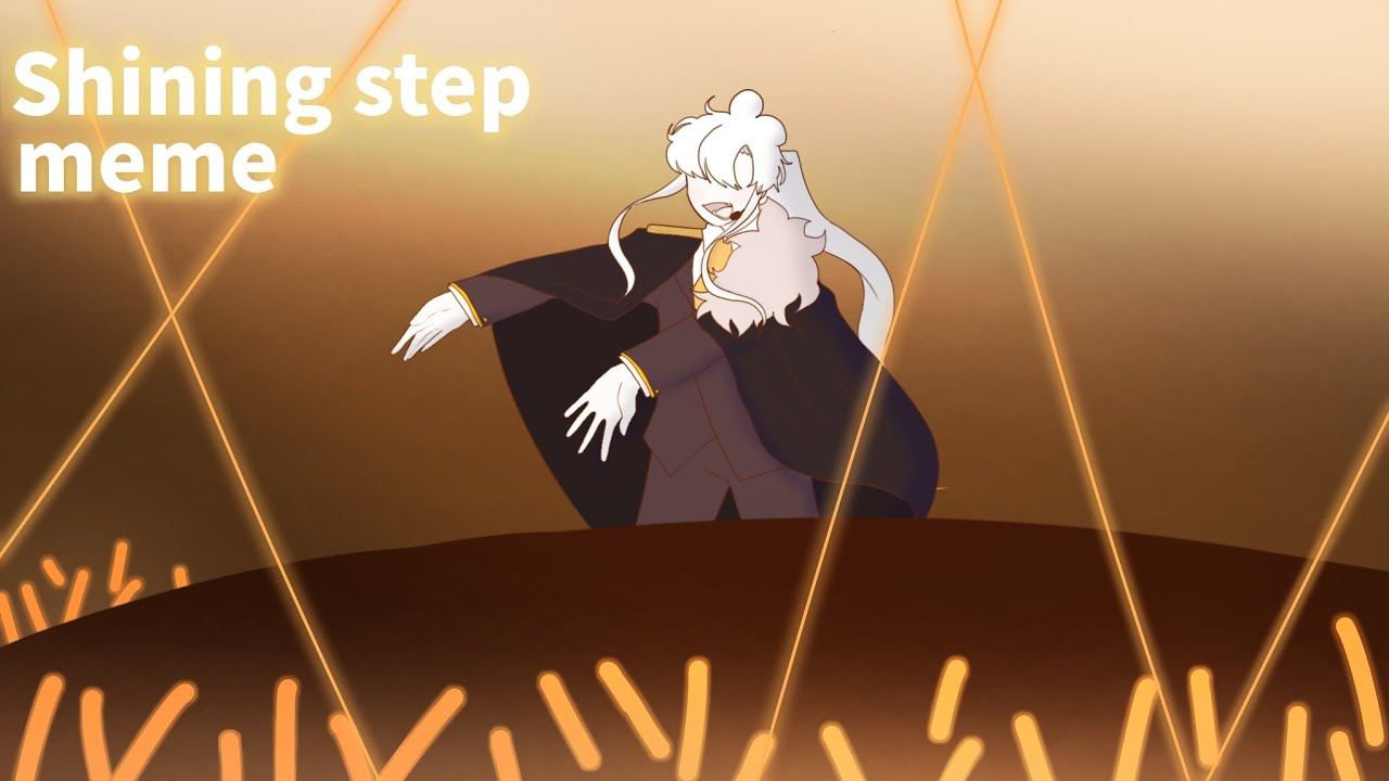 Shining step meme [ oc   아이돌au 아이작 ]