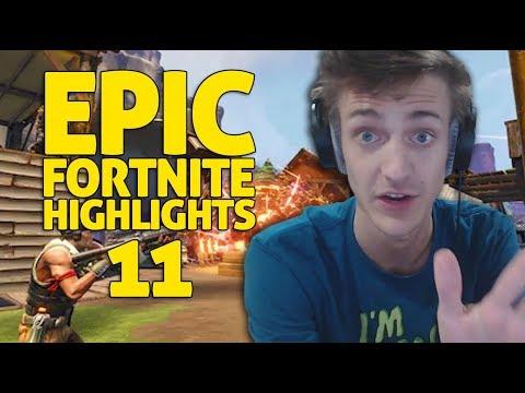 Ninja Fortnite Battle Royale Highlights 11 Youtube