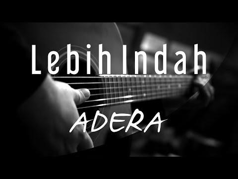 Lebih Indah - Adera ( Acoustic Karaoke )