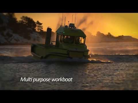 Norsafe Munin 980 Multi Purpose Workboat
