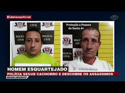 SP: Criminoso abandona corpo esquartejado em carrinho