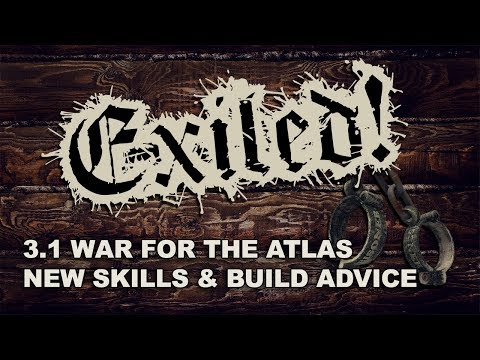 EXILED! with Zizaran - 3.1 Skill & Support Analysis & Build Advice - War for the Atlas / Abyss