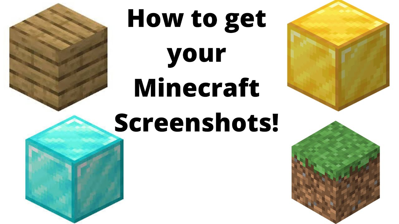 How to find your minecraft screenshots!