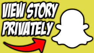 How To Watch Someone's Snapchat Story Without Them Knowing EASY! ✅|  Snapchat Tutorials 👻