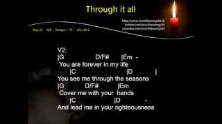 Hillsong - Through it all (D)