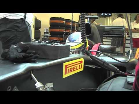 Pirelli F1 wet night tyre test - Abu Dhabi