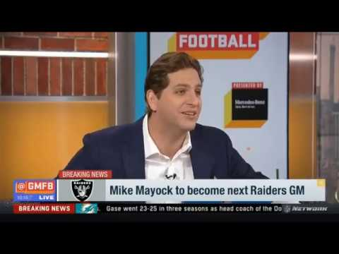 Mike Mayock to become next Raiders GM | Good Morning Football