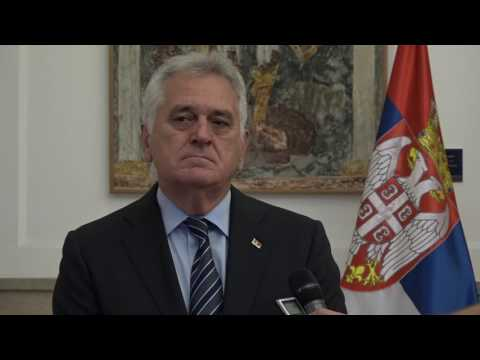 Predsednik Srbije Tomislav NIkolic o Zoranu MIlanovicu