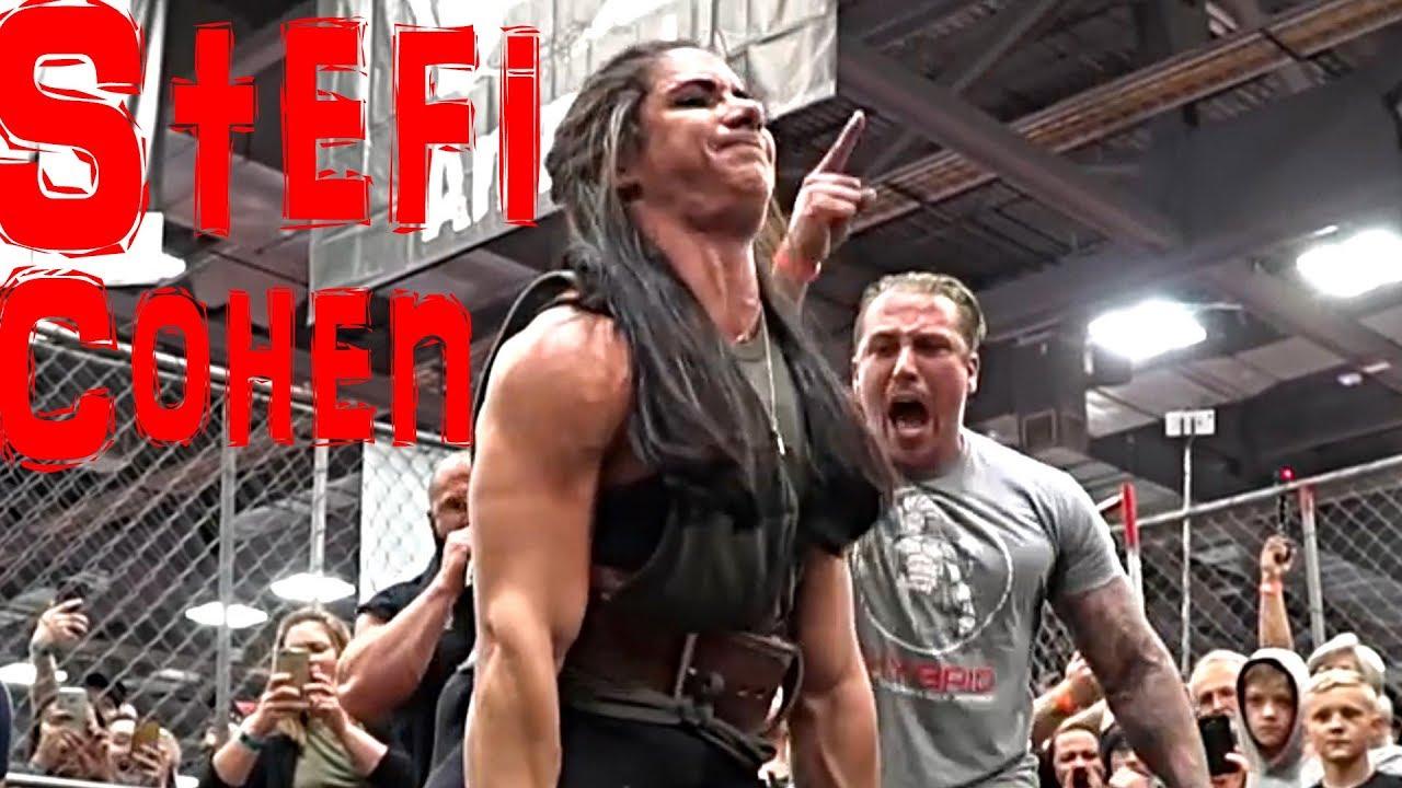Stefi Cohen - Workout Powerlifting Female motivation