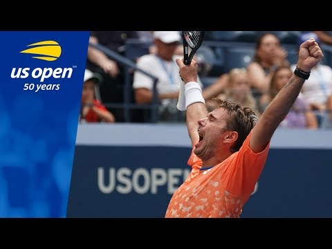 Stan Wawrinka Defeats Grigor Dimitrov in R1 of the 2018 US Open