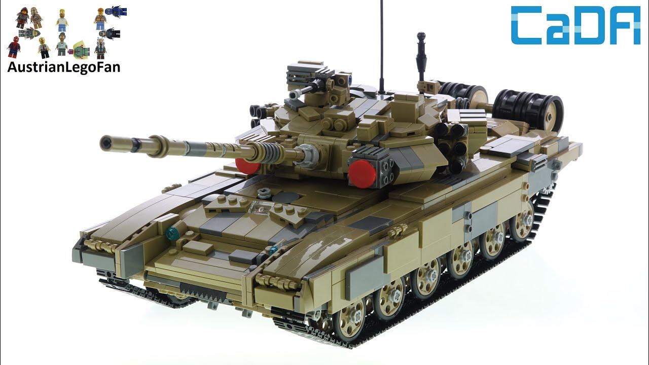Cada C61003w T 90 Tank Unboxing Speed Build Youtube