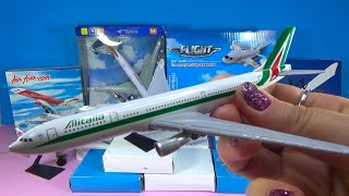 UNBOXING BEST PLANES:  Airbus A340 330 320 321 380 Boeing 747 737 Сathay Pacific JAL Japan Airlines