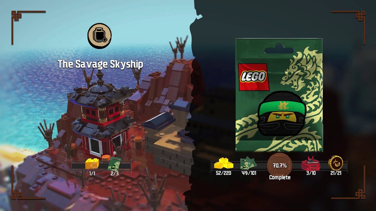 LEGO Ninjago Movie Videogame - All 101 Character Locations!