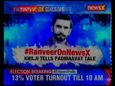 NewsX Exclusive: Ranveer celebrates Padmaavat's success in an exclusive conversation with NewsX