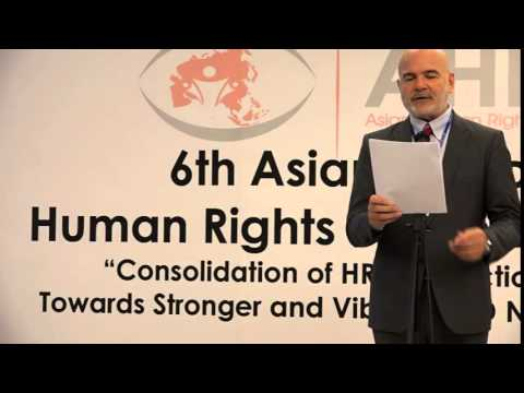 Mr. Michel Forst, UN Special Rapporteur on Human Rights Defender, Opening address - AHRDF 6