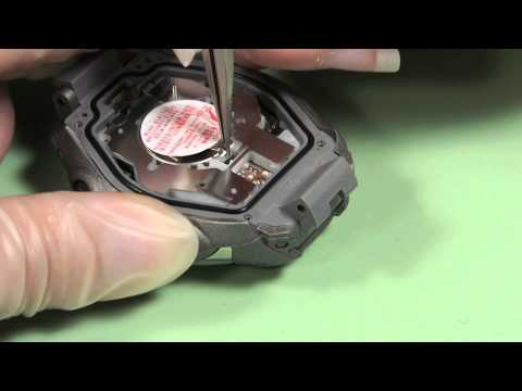 How to Change a CTL1616 Rechargeable Watch Battery in a Casi