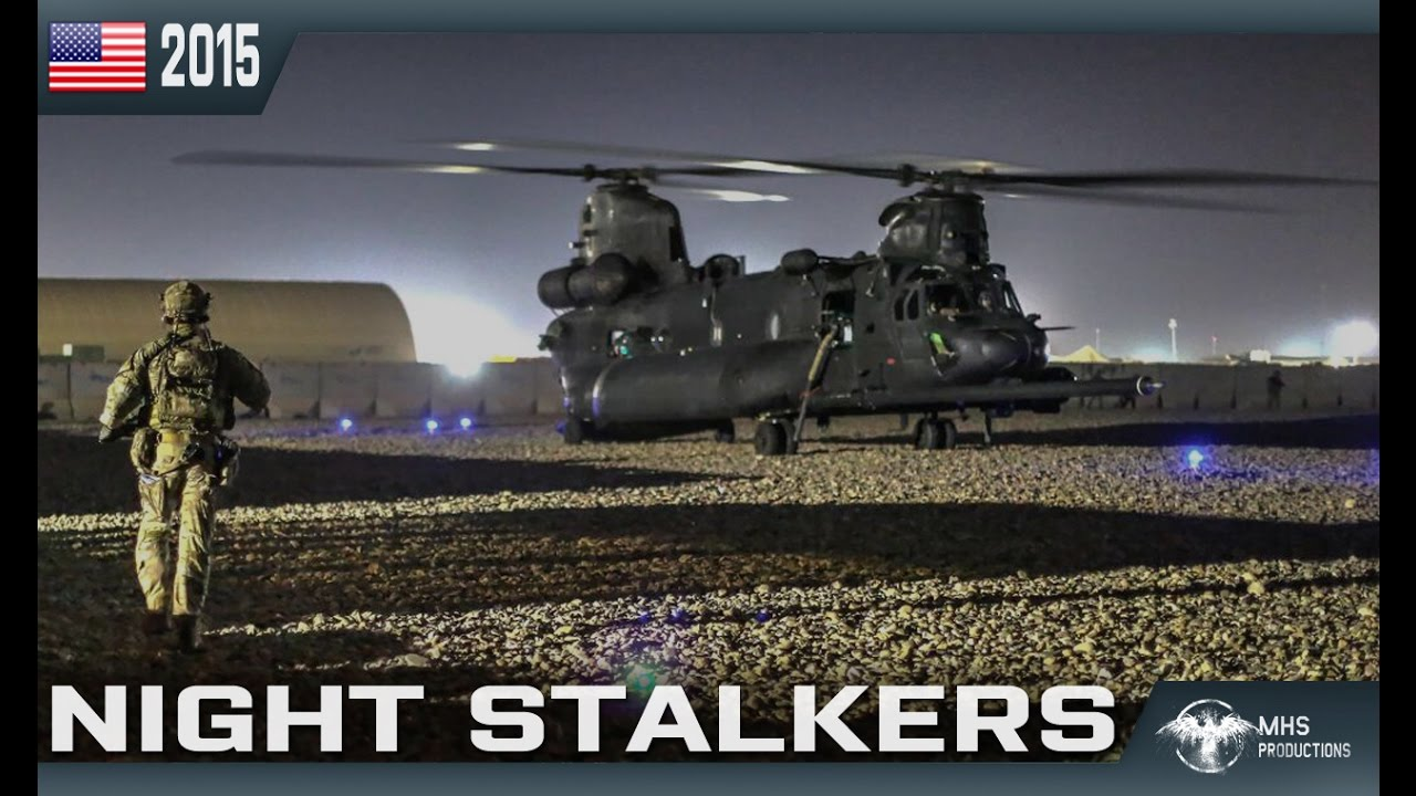 "160th SOAR // Night Stalkers | ""Death Waits in the Dark"""