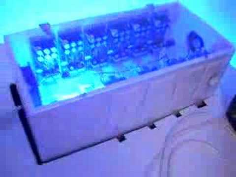 Homemade Tanning Bed Youtube