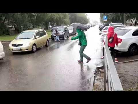 Новосибирск: отсутствует ливневка на Телецентре
