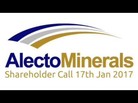 Alecto Minerals Shareholder Call