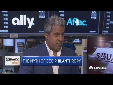 Tech philanthropy: Self-serving or sincere?