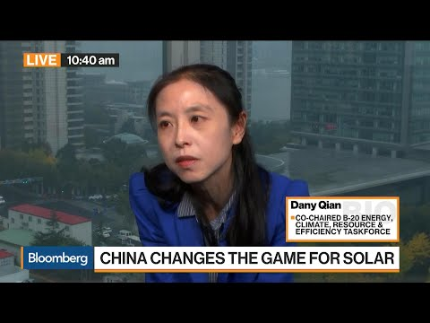 JinkoSolar's Qian on Clean Energy in China, Demand