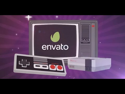 Video Game Slideshow After Effects template - YouTube - video game template