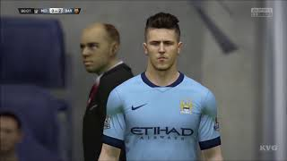 FIFA 15 - UEFA Champions League - Manchester City vs FC Barcelona Gameplay (PC HD) [1080p]