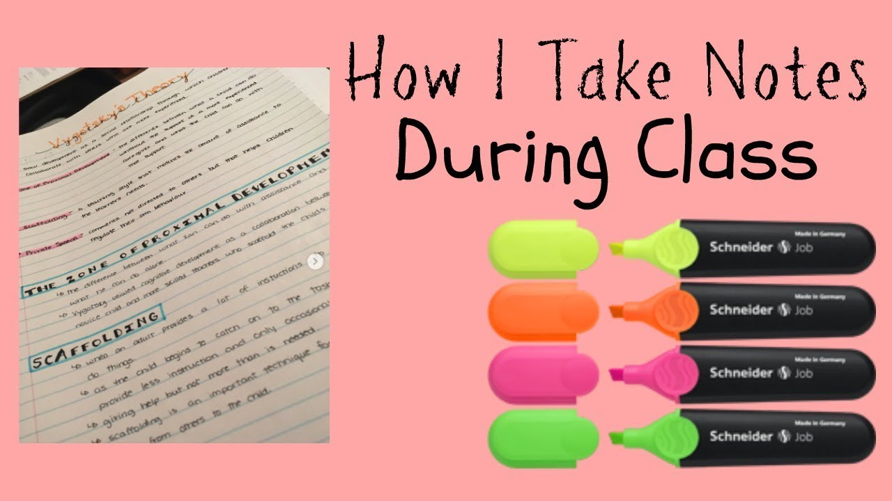 how to take notes during class Why should you take notes notes provide a record of what was covered during class that can be used in studying for exams when should you take notes before.