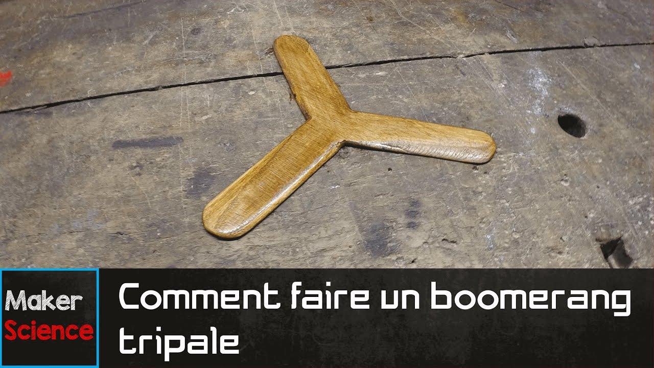 #DIY Comment faire un boomerang tripale