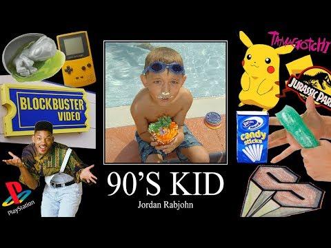 90's Kid - Jordan Rabjohn // Official Music Video