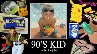 90's Kid - Jordan Rabjohn // Official Music Video