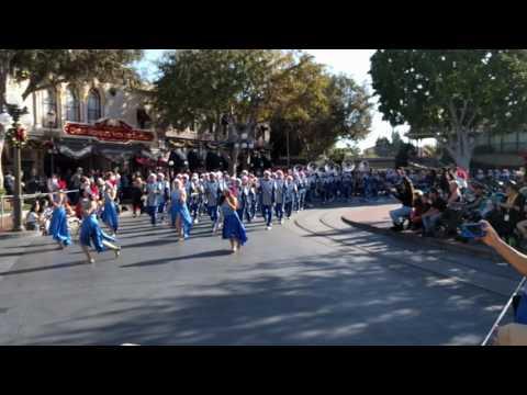 Barron Collier High School - Disneyland Parade end
